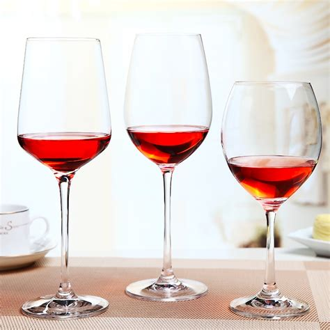 Home Decor Wholesale Supplier wine glass cup manufacturwer different types of red wine