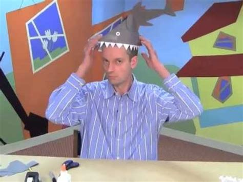 How To Make A Paper Shark Hat - make a paper shark hat an easy craft for by world