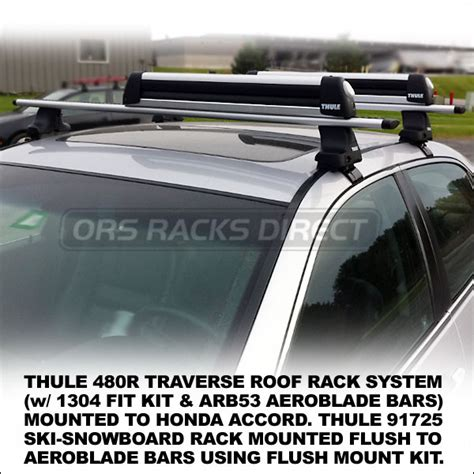 thule 480r rapid traverse roof rack w aeroblade bars