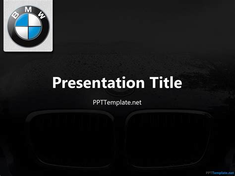 Free Bmw Ppt Template Luxury Powerpoint Template