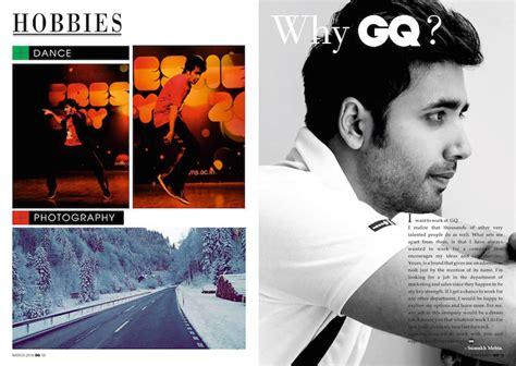 design instagram interview this guy s magazine style resume got him an internship at