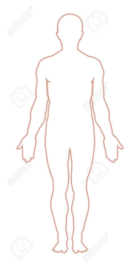 human figure template human figure outline