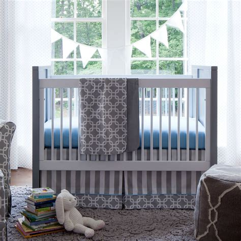 Gray Crib Bedding Set Giveaway Crib Bedding Set From Carousel Designs