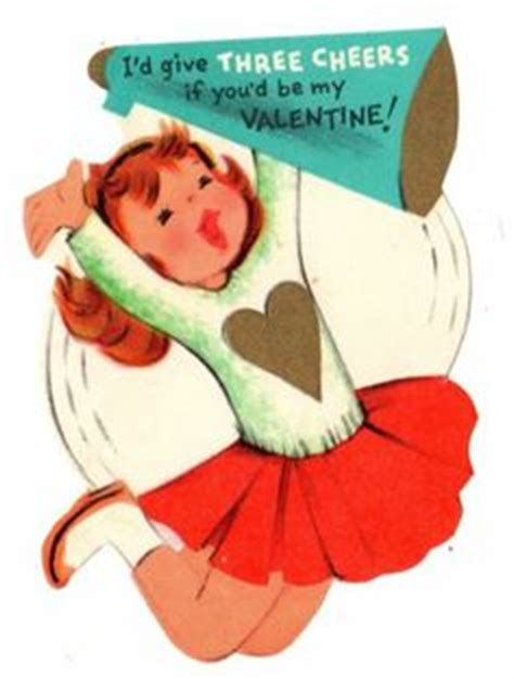 Give Cheer Gift Card - cheers on pinterest vintage valentines 1950s and cheerleading outfits