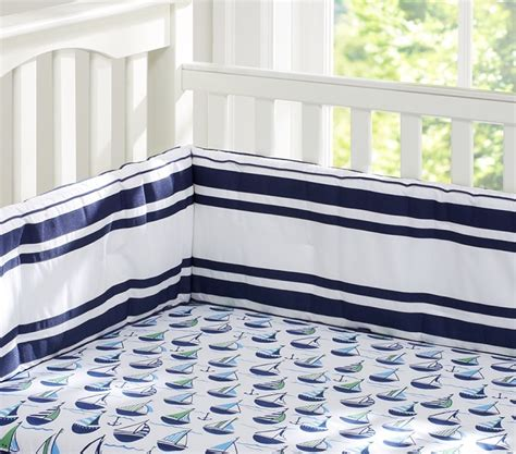 Preppy Boats Harper Nursery Bedding Pottery Barn Kids Preppy Crib Bedding
