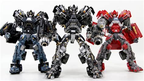Film Robot Transformer Youtube | transformers movie 3 dotm leader class ironhide 3 robots