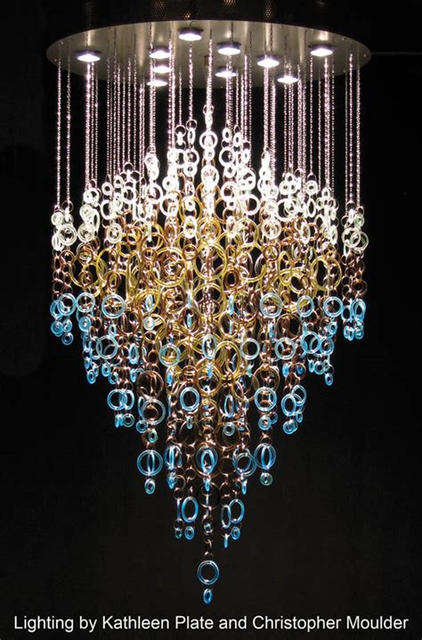 Coke Bottle Chandelier Refurnished Living A Touch Of Glass Home Magazine