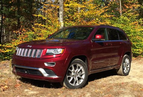 luxury jeep review 2016 jeep grand cherokee summit 4x4 an off road