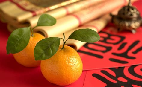 new year tangerine significance of silk new year