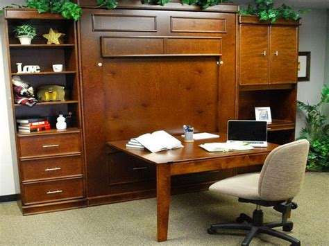 Murphy Bed Office Desk 17 Best Ideas About Murphy Bed Desk On Murphy Bed Office Murphy Bed With Desk And