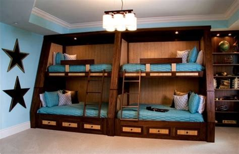 bunk room ideas 15 kids room design ideas for four kidsomania
