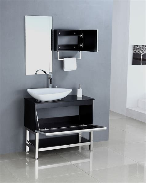 Modern Single Bathroom Vanities Legion Furniture Modern 35 Single Sink Bathroom Vanity Wa3153 Contemporary Bathroom Vanities At