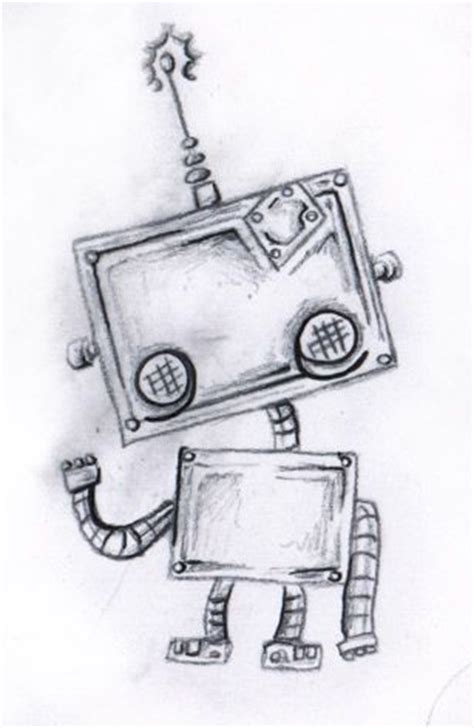 doodle robot meaning best 25 robot ideas on minimalist