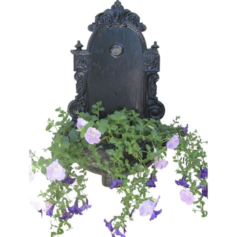 Cast Iron Wall Planter by 1890 S Cast Iron Wall Planter Lavabo From