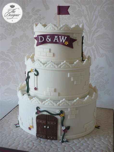 Castle Wedding Cake by Castle Wedding Cake Cakecentral