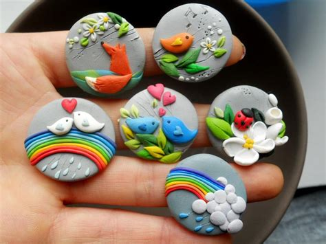 fimo clay magnets fimo sculpey polymer clay fimo sculpey