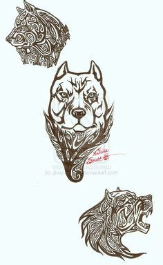 tribal quad tattoo tribal pitbull design sticker decal for your car boat