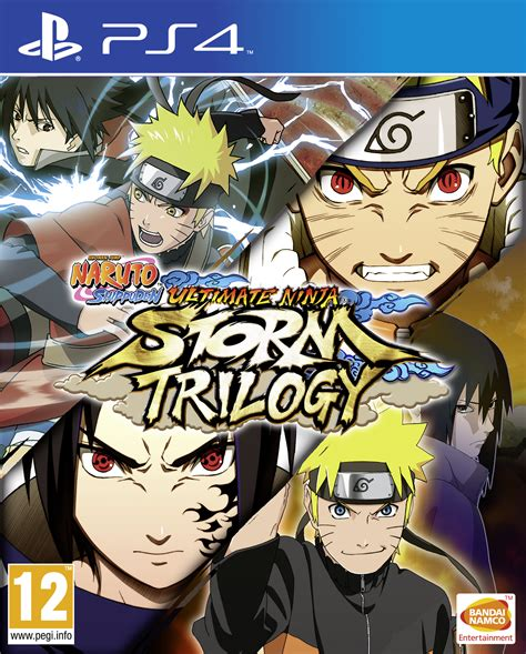 Kaset Ps4 Shippuden Ultimate Trilogy shippuden ultimate trilogy announced the levels