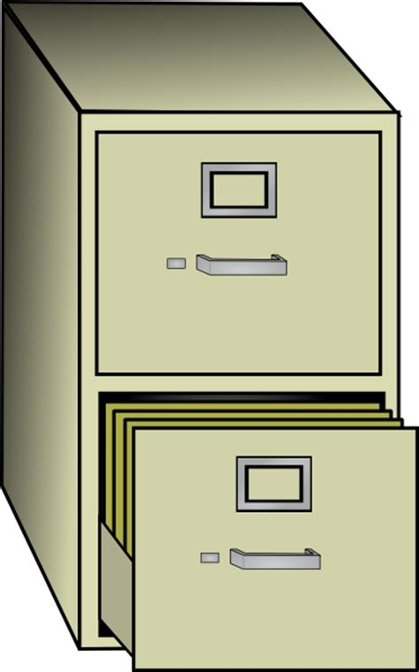 Cabinet Clipart by Metal File Cabinet Clip At Clker Vector Clip