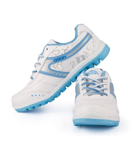 asian white lace lifestyle sports shoes price in india