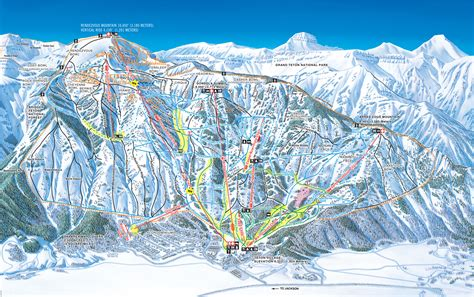 map of us ski area jackson mountain resort skimap org