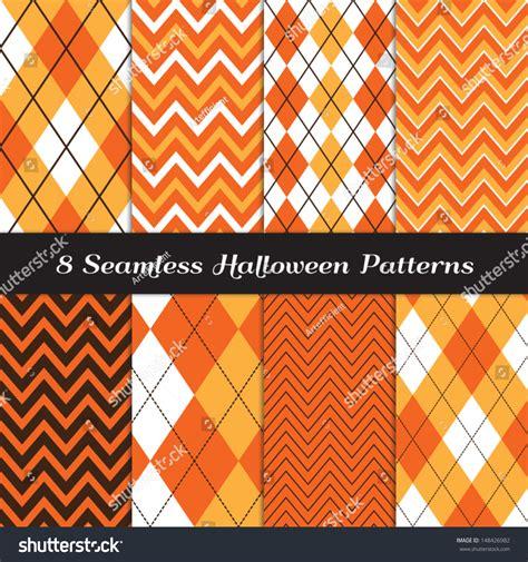 perfect pattern password halloween orange white and brown argyle and chevron