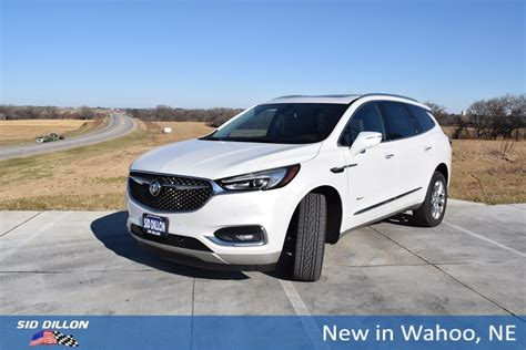 New 2018 Buick Enclave Avenir SUV in Wahoo #53J133   Sid Dillon Auto Group