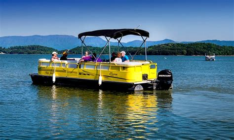douglas lake pontoon rentals douglas lake marina in dandridge tn groupon