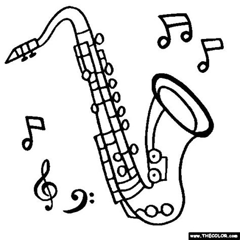 blues music coloring pages 84 best images about saxophone cake on pinterest jazz
