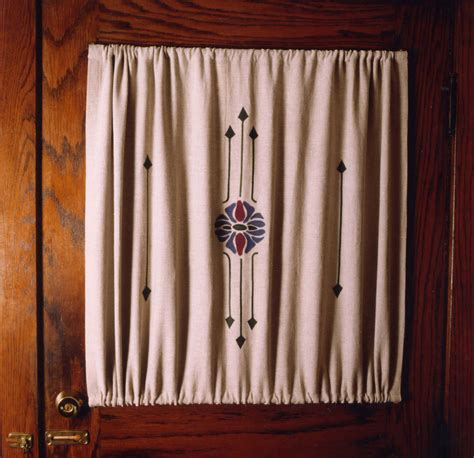 arts and crafts style curtains curtains in the arts crafts style ann wallace for
