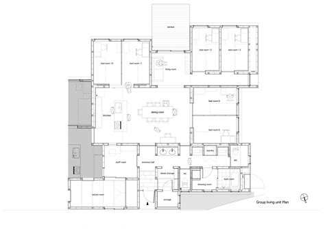 floor plans for group homes home design and style