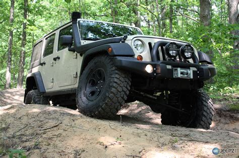 even though whitewalls were standard all black tires become highly sought after as luxury tires unlike whitewall tires black tires required less care aev offers 75 000 jeep wrangler hemi