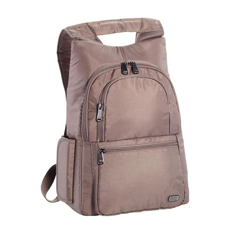 lug walnut hatchback mini backpack the container store