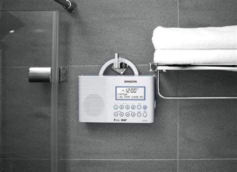 Radio For Shower Bathroom Sangean Europe 187 Shower Radios 187 H203d Dab Fm Rds Waterproof Radio