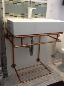 bathroom sink stand copper wall mounted bathroom sink stand with towel rack