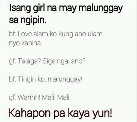 Or Question Tagalog At Ang Malunggay Sa Ngipin Jokes Kowtz Quotes And Jokes
