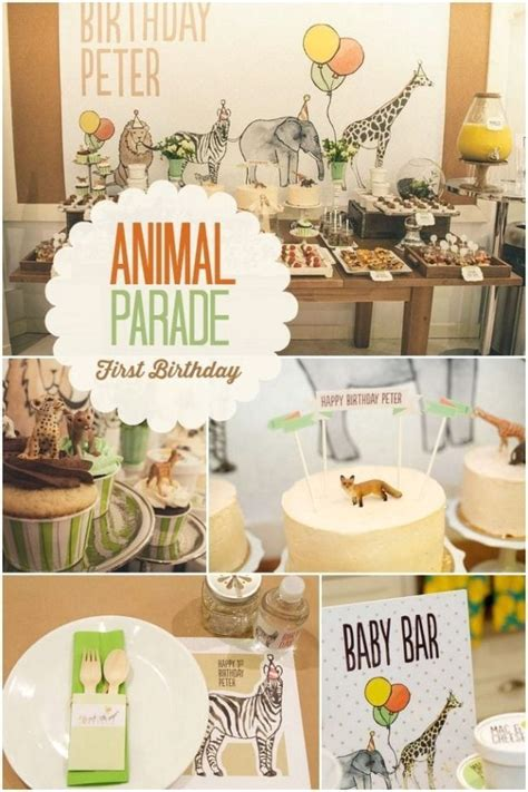 animal two boy and one a boy s animal parade birthday spaceships and
