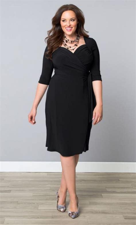 picture   black knee dress   draped bodice short