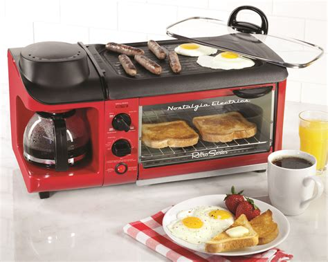 Unique Kitchen Decor Ideas by Nostalgia Electrics 3 In 1 Breakfast Station Kitchenware