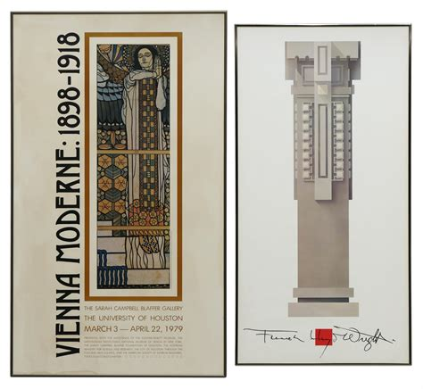 frank lloyd wright prints 2 framed art posters frank lloyd wright vienna