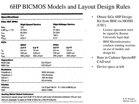 layout design rules cadence ppt the effect of substrate coupled noise on the design