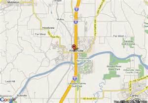 wilsonville oregon map map of wilsonville inn and suites wilsonville