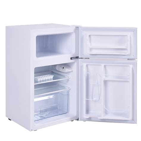 Hair Bedroom Refrigerator White Color 3 2 Cu Ft Mini Refrigerator And Freezer Small