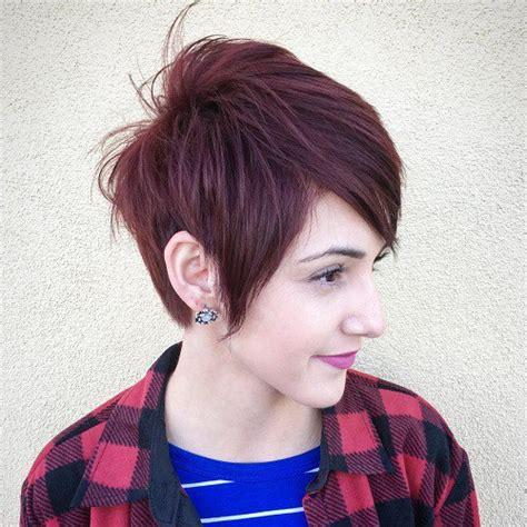 choppy pixie with long bangs 60 short choppy hairstyles for any taste choppy bob