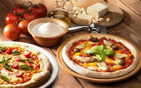 free table pizza pizza hd wallpaper and background 2880x1800 id 427142