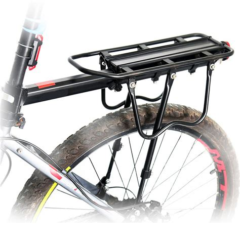 Bicycle Cargo Rack by Bargain Mtb Fixie Bike Cargo Racks V Brake Disc Luggage Racks Bicycle Kickstand