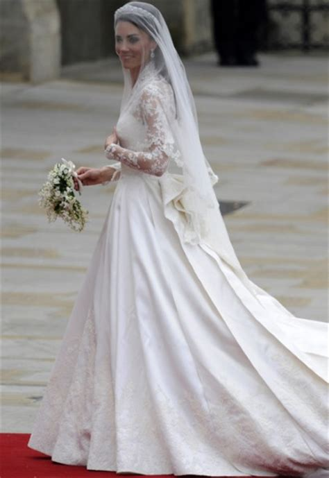 middleton wedding dress is burton for