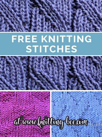 pattern library knitting 190 best free knitting stitches images on pinterest