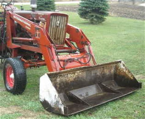 Used Farm Tractors For Sale Ih 2250 Loader 656 706 806