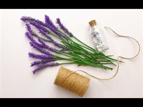 lavender paper flower tutorial abc tv how to make lavender paper flower from crepe